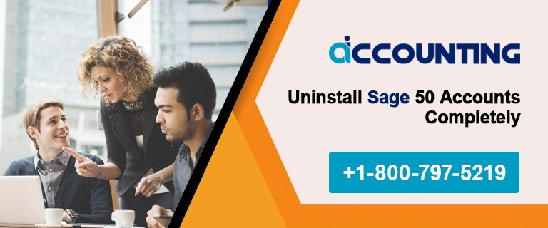 Uninstall Sage 50 Accounts Completely