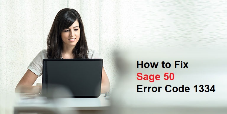 How to Fix Sage Error Code 1334