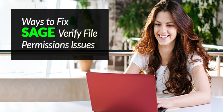 Sage Verify File Permissions Issues