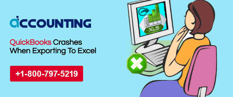 QuickBooks Crashes When Exporting To Excel